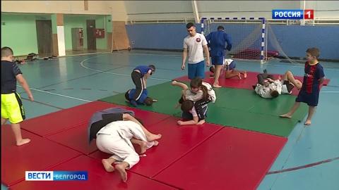 В Волоконовском районе на базе Пятницкого ФОКа возродили секцию дзюдо