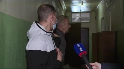 Вести-Курск. В Курске в двухэтажном доме обрушился потолок