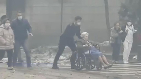 Вести. Дежурная часть. Мощный взрыв в Мадриде: шокирующие кадры