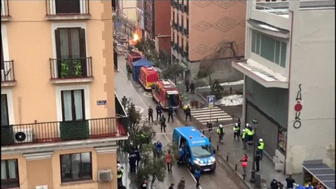 """Новости на """"России 24"""". Взрыв в Мадриде: 21 января начнется демонтаж верхних этажей пострадавшего дома"""