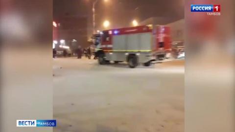 ВестиТамбов. Из торгового центра в Тамбове экстренно эвакуировали посетителей