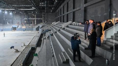 """""""Вести-Калуга"""". Работы во Дворце Спорта планируют завершить в конце февраля"""