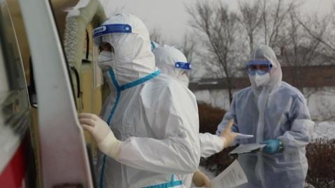 """Новости на """"России 24"""". В Хакасии персонал мобильного военного госпиталя готовится к возвращению на базу"""