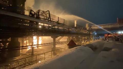 Вести. Дежурная часть. Подробности сильного пожара на заводе в Башкирии