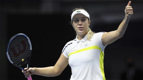 Павлюченкова поднялась на одну позицию в рейтинге теннисисток