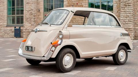 Послевоенный миникар BMW выставлен на продажу в Москве