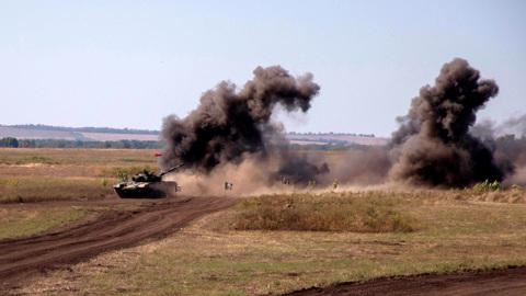 Американские активисты требуют прекратить войну в Донбассе