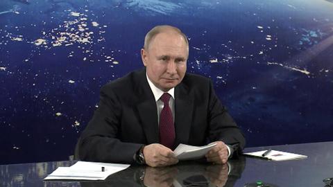 Путин: срок исполнения задач в космосе стоит уточнить