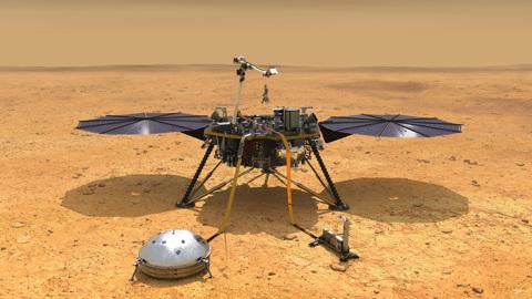 Не умереть без солнца: марсианский зонд InSight борется за жизнь