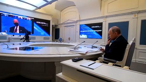 Казус с Путиным и Макроном на саммите Байдена