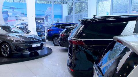 В России выросли продажи подержанных Kia