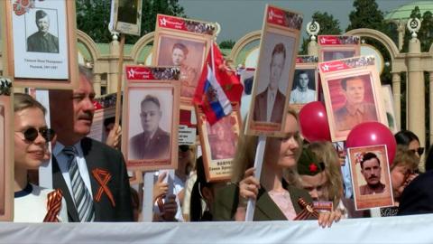 """""""Бессмертный полк"""" откажется от шествия из-за коронавируса"""