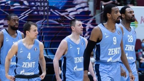 """Единая лига. Баскетболисты """"Зенита"""" вышли в полуфинал турнира"""