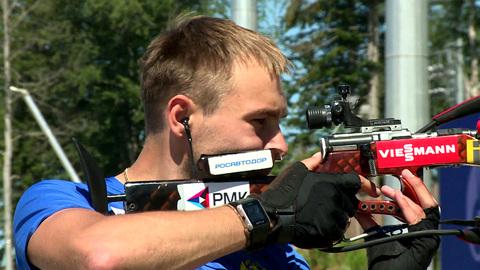 Российские биатлонисты приехали на тренировочный сбор в Сочи