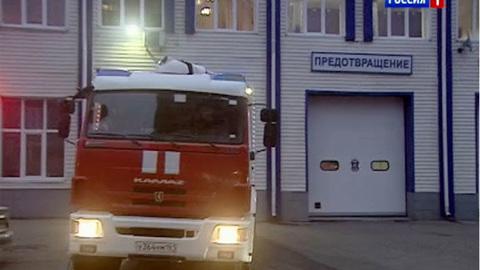 В Ростове на улице Оганова загорелся пассажирский автобус