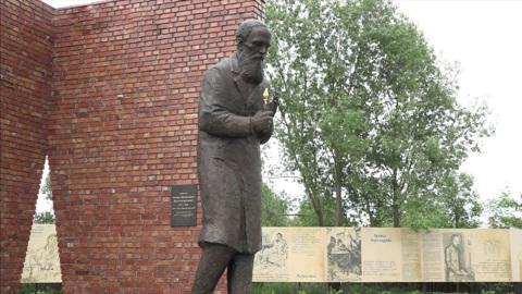 В Ярославской области открыли памятник Фёдору Достоевскому