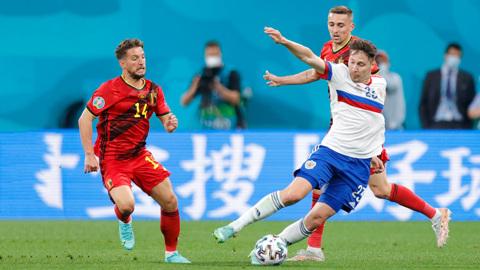 Бельгия позади. России предстоит игра с дебютантом Евро