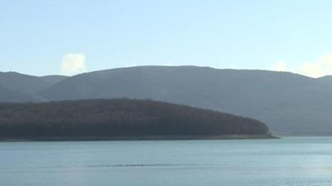 Чернореченское водохранилище в Крыму пополнилось на два миллиона кубометров