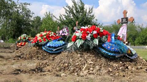 Таких масштабных похорон в ЛНР не было давно