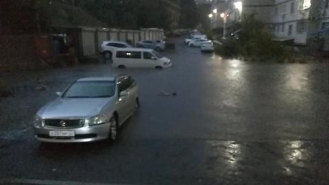 Ростов-на-Дону затопило после ливней