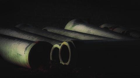 200 кг добычи: у орловца с дачного участка похитили огромную трубу