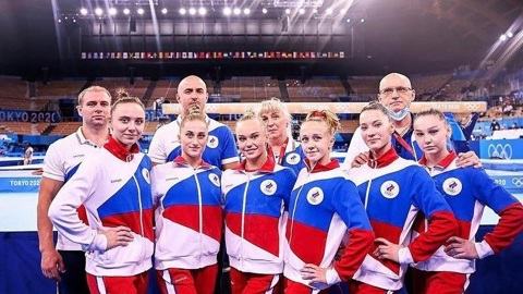 Российские гимнастки выиграли золото командного многоборья