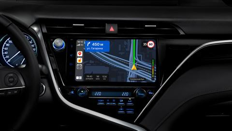 """""""Яндекс.Навигатор"""" теперь работает с CarPlay и Android Auto"""