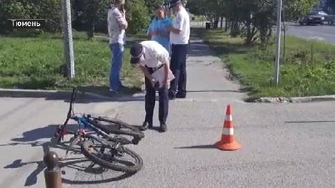 В Тюмени задержали сбившего велосипедиста водителя