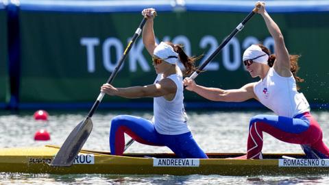 Андреева и Ромасенко – в полуфинале Олимпиады в гребле на каноэ-двойках на 500 м