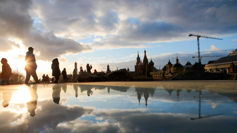 Солнце появится в Москве лишь в понедельник