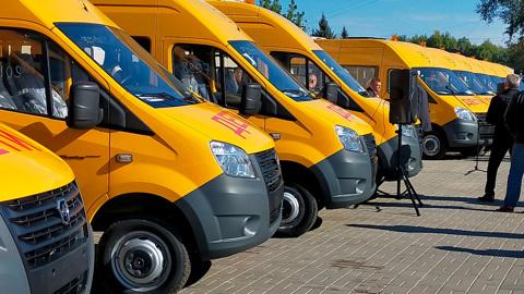 Школьный автопарк Тамбовской области пополнят новые автобусы