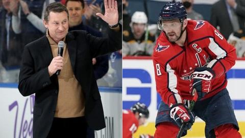 Гретцки дал рекомендации Овечкину, чтобы побить рекорд НХЛ