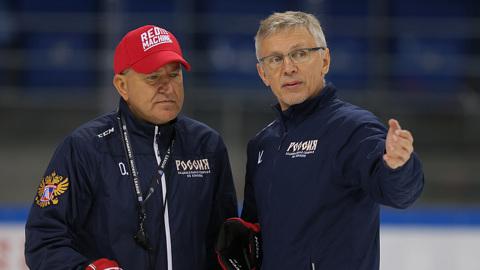 Ларионов сменил молодежную сборную России на олимпийскую