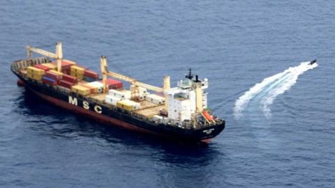 Российские морпехи напугали африканских пиратов в Атлантике