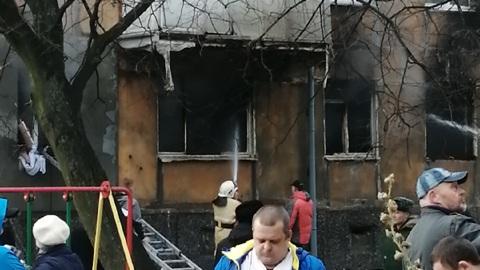Мощный взрыв прогремел в жилом доме в Балтийске