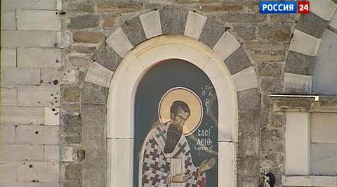 Патриарх Кирилл поклонился Афону