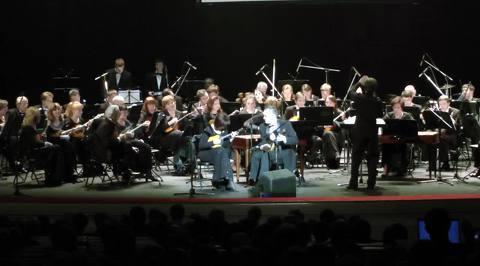 Академический оркестр русских народных инструментов ВГТРК. Концерт оркестра в Варшаве