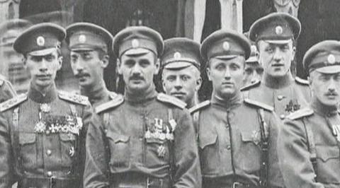 История Преображенского полка, или Железная стена