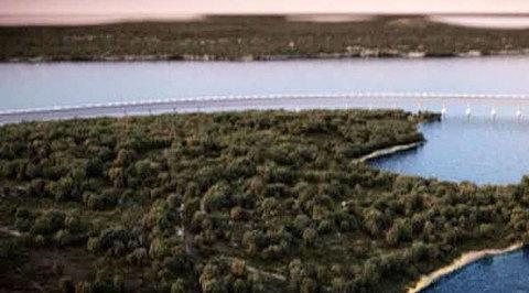 Мост в Крым: место опоры