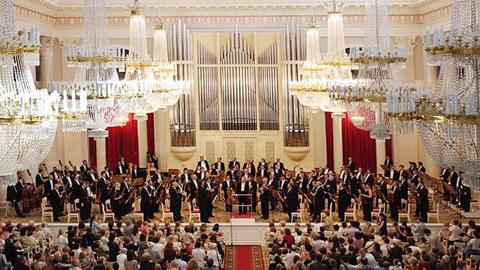 К 100-летию со дня открытия Санкт-Петербургской филармонии