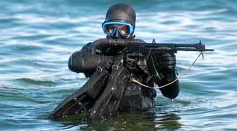 Мастера. Военный водолаз