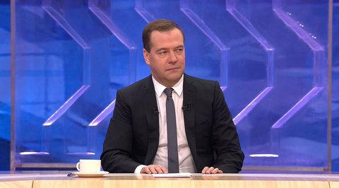 Разговор с Дмитрием Медведевым. Эфир от 10.12.2014