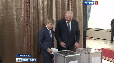 Выборы президента Белоруссии прошли спокойно