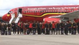 В Шереметьево приземлился самолет сборной Бельгии