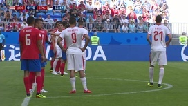 Гол Коларова принес сербам победу над Коста-Рикой