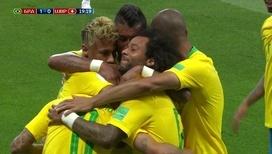 Бразильцы открывают счет