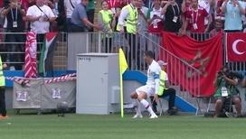 Криштиану Роналду забил свой четвертый гол на чемпионате мира