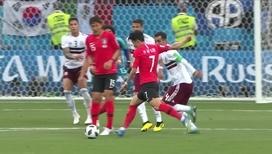 Сон Хын Мин забивает гол в ответ