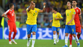 Бразильцы обыграли сербов и с первого места вышли в 1/8 финала