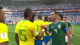 Голы Неймара и Фирмино помогли Бразилии обыграть Мексику